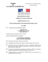 V22 – ARRETE DE CIRCULATION CONSTRUCTEL